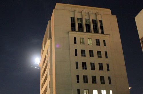 Judge Lynn N. Silvertooth Judicial Center at Night